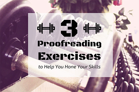 Proofreading Exercises