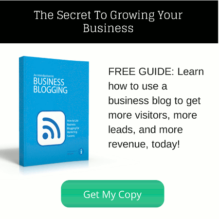 Inklyo's free ebook about business blogging.