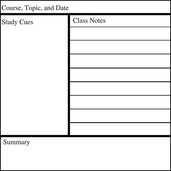 How To Master The Cornell Note Taking System