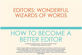 How to Become a Better Editor