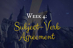 Learning Grammar through Reading: Harry Potter Week 4