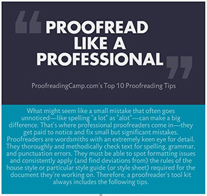 The Top 10 Proofreading Tips