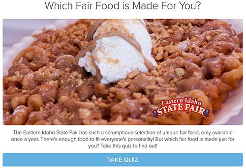 Which Fair Food is Made For You?