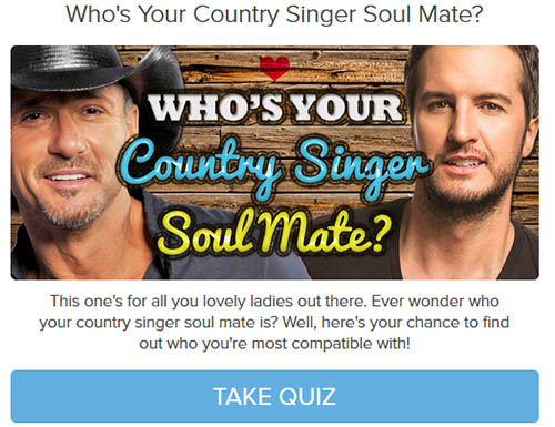 Who's Your Country Singer Soul Mate?